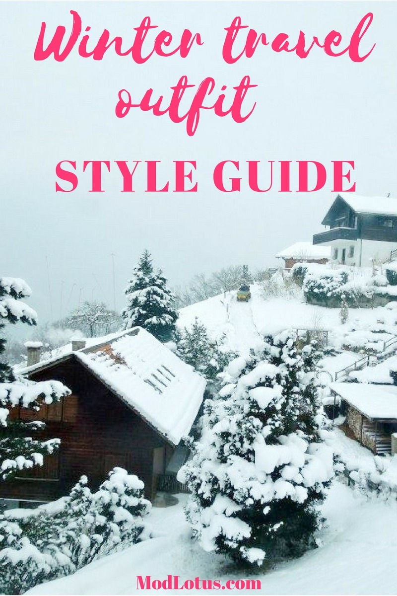 winter travel outfit style guide ski travel style guide
